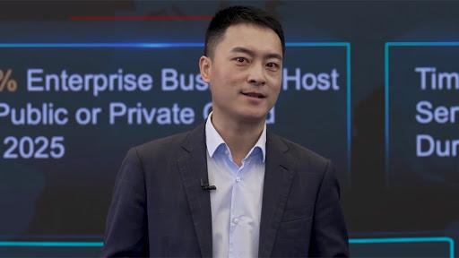 Hongbo Li, president of the Global Internet Service Industry unit at Huawei.