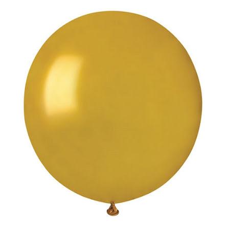 Ballonger helrunda 48 cm, guld