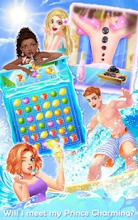 Fashion high school beach party queen mod apk for Kitchen queen mod apk