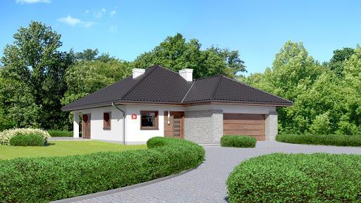projekt Dom przy Pastelowej 8 bis