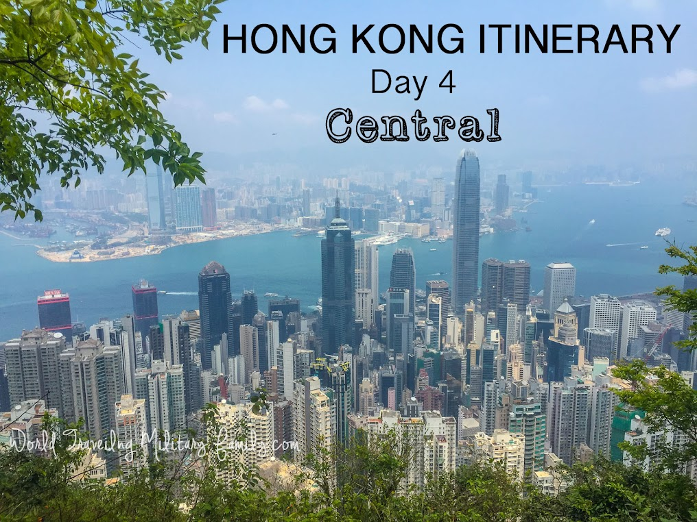Hong Kong Itinerary Day 4 - Central Area