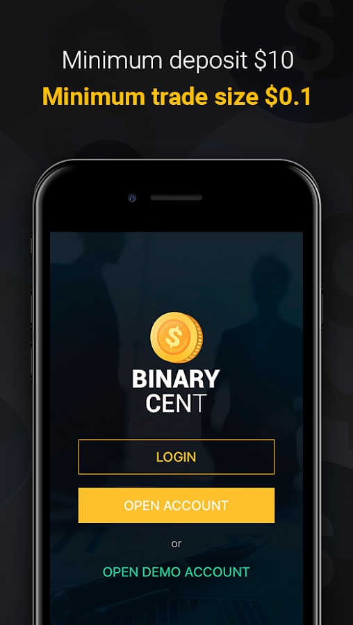 Binary options cent account