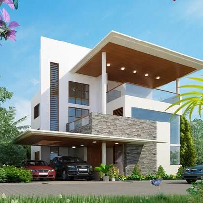 Exterior Design Ideas mind blowing modern residence exterior design idea 3d Home Exterior Design Ideas Screenshot