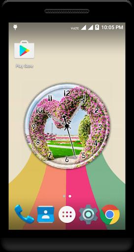 Garden Clock Live Wallpaper  screenshots 3