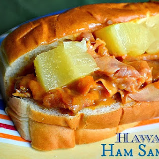 Hawaiian Ham Sammies