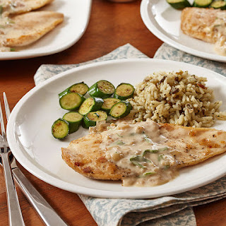 Tarragon Chicken With White Wine Sauce