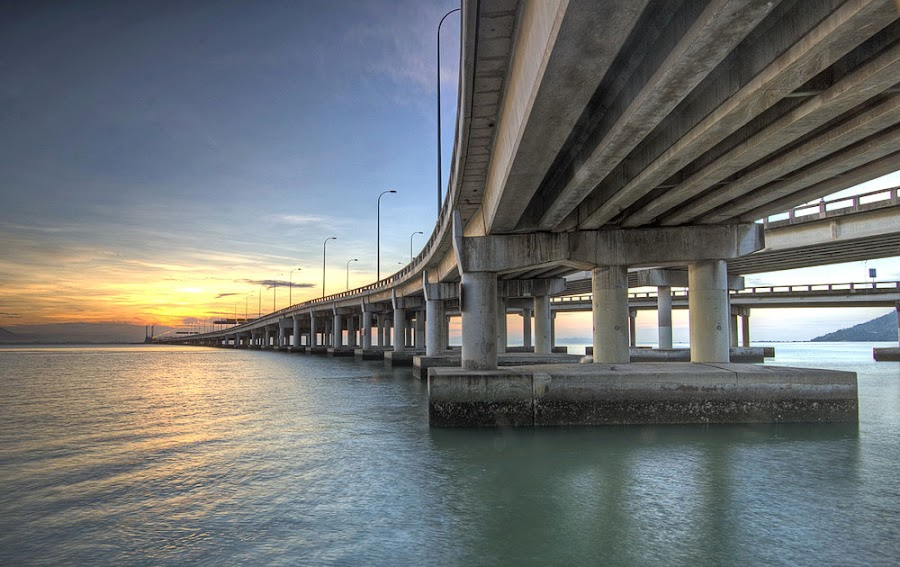 Penang Bridge | Malaysia by Danny Tan - Buildings & Architecture Bridges & Suspended Structures