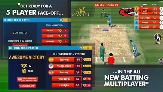 World Cricket Championship 2 – WCC2 Mod Game APK [Unlocked] 3