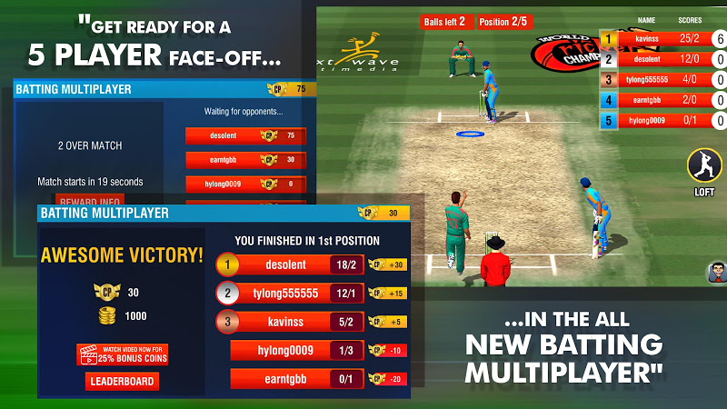 World Cricket Championship 2 - WCC2 Screenshot 2