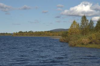 Photo: Alajärveä rannalta kuvattuna