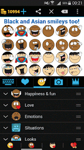 Emojidom: Chat Smileys & Emoji- screenshot thumbnail