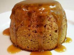 Sticky Toffee Pudding Cake with Caramel Sauce
