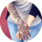 conception de henné simple icon