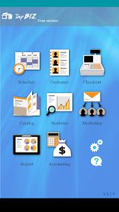 TapBiz Business Manager - náhled