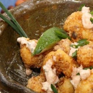 Spicy Fried Cauliflower Bites