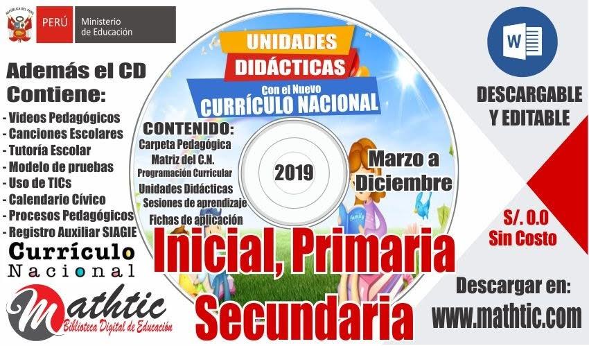 Unidades y Sesiones 2019