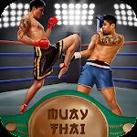 Muay Thai Box Fighting 3D Icon