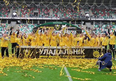 Le BATE Borisov a remporté la Coupe de Biélorussie devant des milliers de supporters