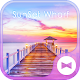 Beautiful Wallpaper SunSet Wharf Theme Download on Windows