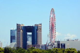 Photo: We arrive at Odaiba Island - on the other side of Tokyo from where we are staying - near Tokyo Disney World