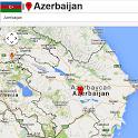 Baku map icon