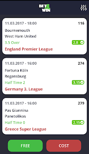 Bet4Win - náhled