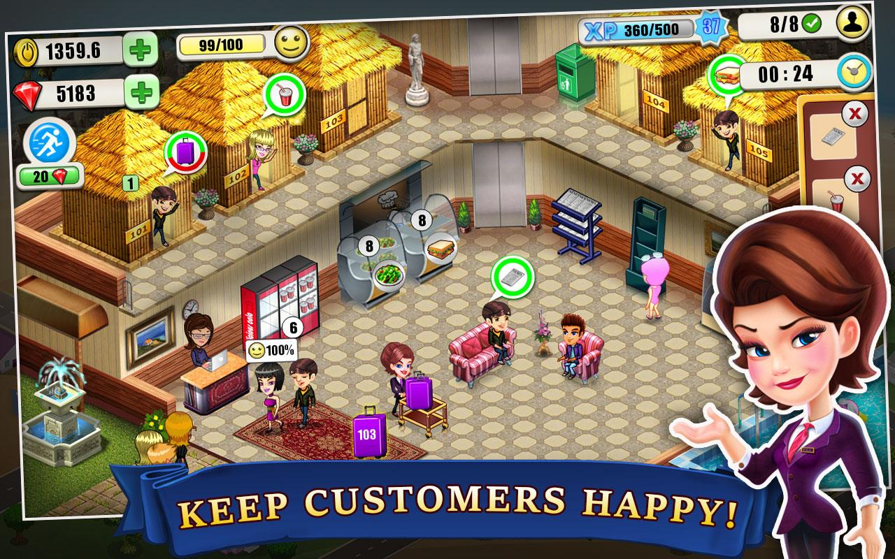 Resort Tycoon v4.0 (Mod Money)