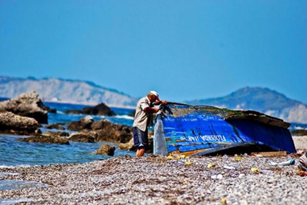 L'uomo e la barka di enea