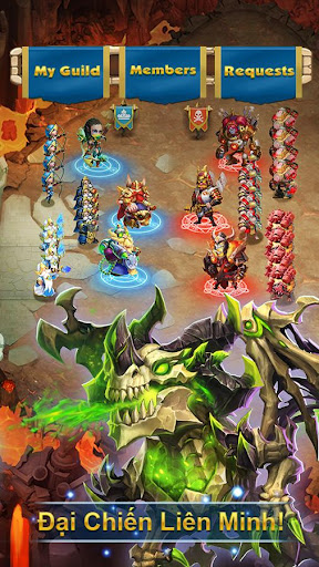 Castle Clash: Bang Chiu1ebfn - Gamota 1.4.1 screenshots 17