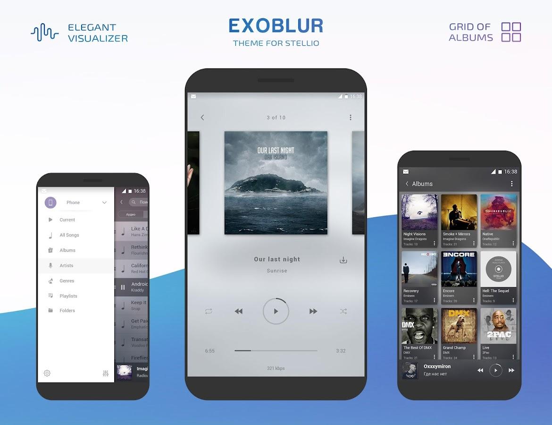 Google theme kpop exo - Stellio Exoblur Theme Screenshot