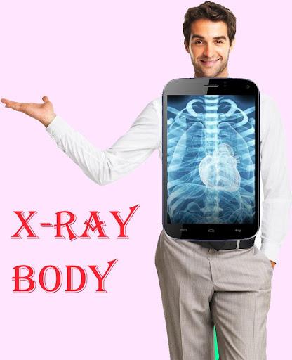 X-Ray Body Scanner Camera