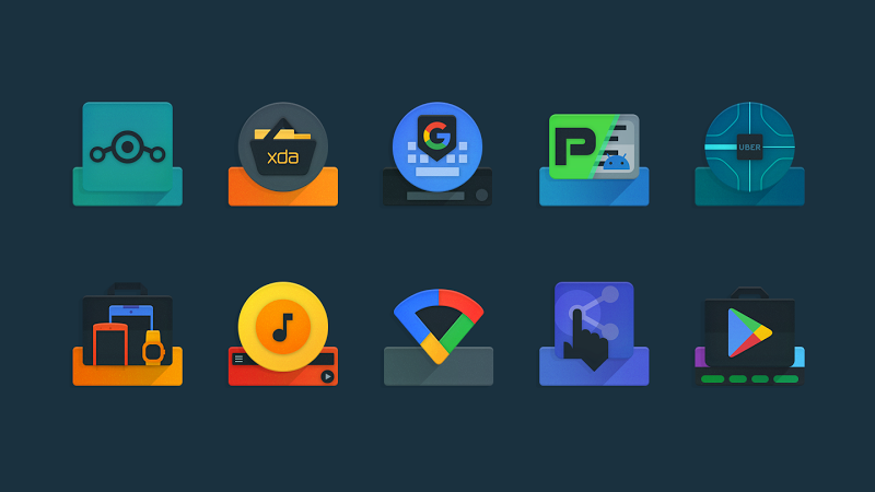 Ombre - Icon Pack Screenshot 4
