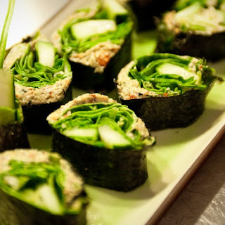 Hemp Seed Nori Rolls... Recipe
