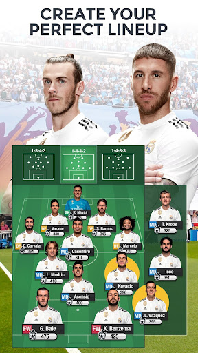 Real Madrid Fantasy Manager'18- Real football live  screenshots 1