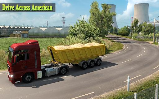 US Heavy Grand Truck Cargo 3D Driver 1.0 screenshots 2