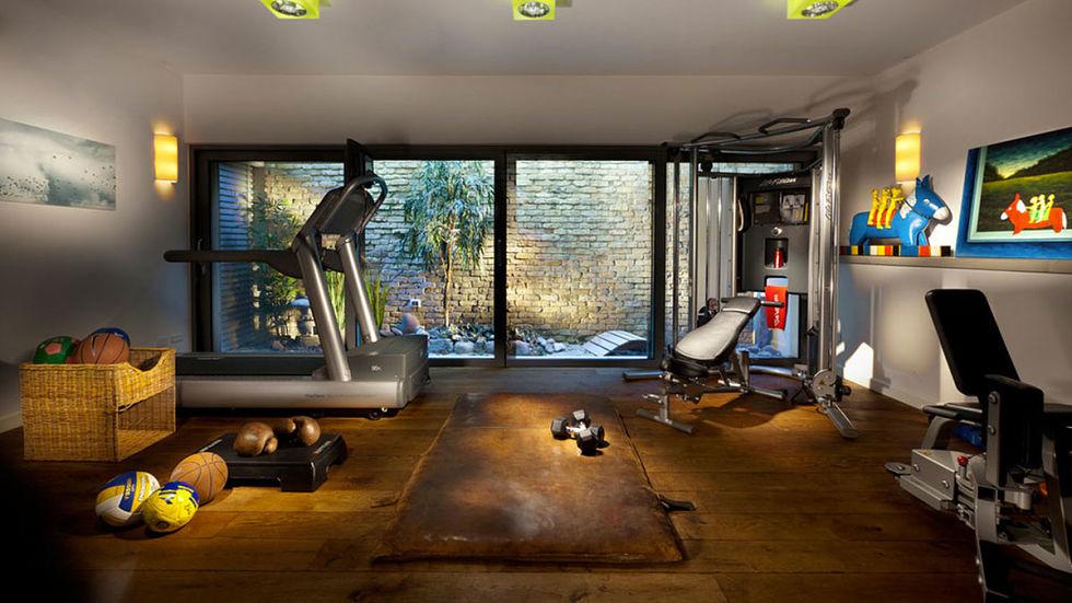Phòng gym đẹp tại nhà