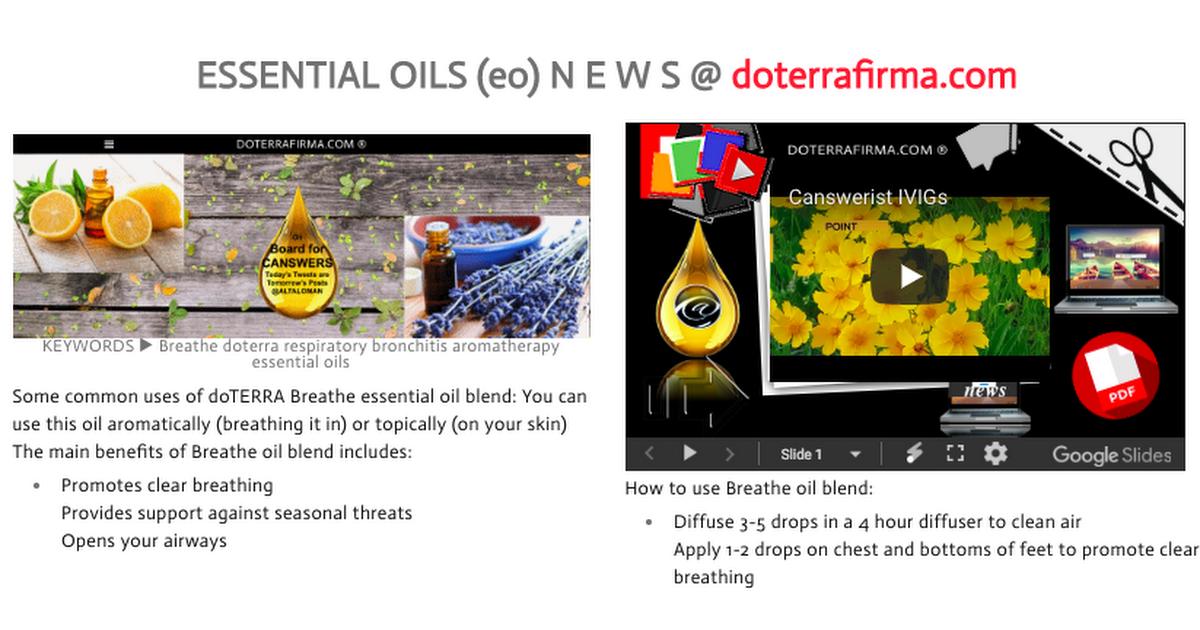 ESSENTIAL OILS (eo) NEWS @ doterrafirma.png