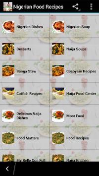Download nigerian food recipes apk latest version app for android nigerian food recipes poster forumfinder Images