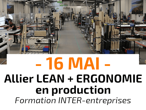 Allier Lean et Ergonomie en production Formation INTER-entreprises