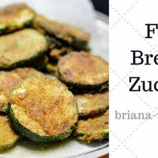 Fried Breaded Zucchini.