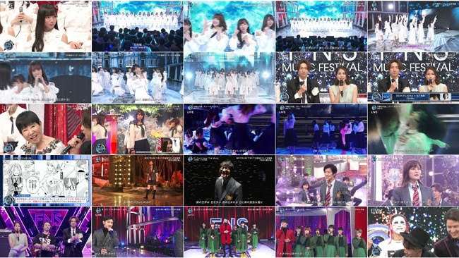 191211 (720p+1080i) FNS Kayousai 2019 2nd Night (46G Part)