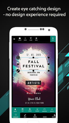 Foto do DesignX - Design Flyers & Posters for free
