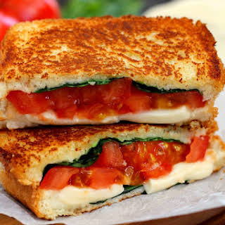 Caprese Grilled Cheese.