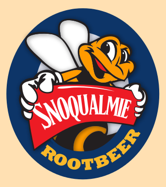 Logo of Snoqualmie Rootbeer