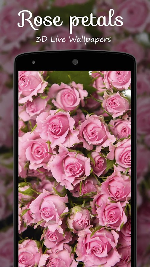 Rose petals 3D Live Wallpaper - Android Apps on Google Play