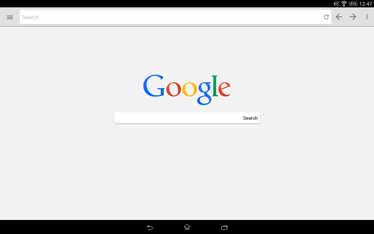 Lightning Web Browser- screenshot