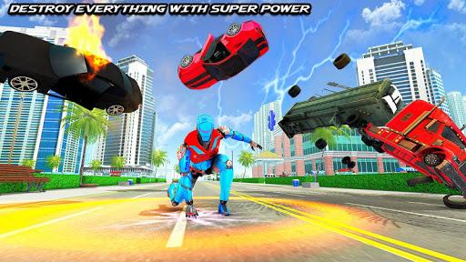 Speed Robot Game u2013 Miami Crime City Battle 2.4 Screenshots 5