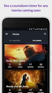 CinemApp - Never miss a movie - náhled