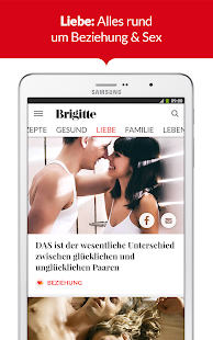 BRIGITTE – Mode, Liebe, Beauty- screenshot thumbnail