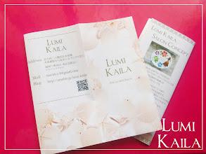 Photo: LUMI KAAILA様 A5サイズ三つ折りリーフレット